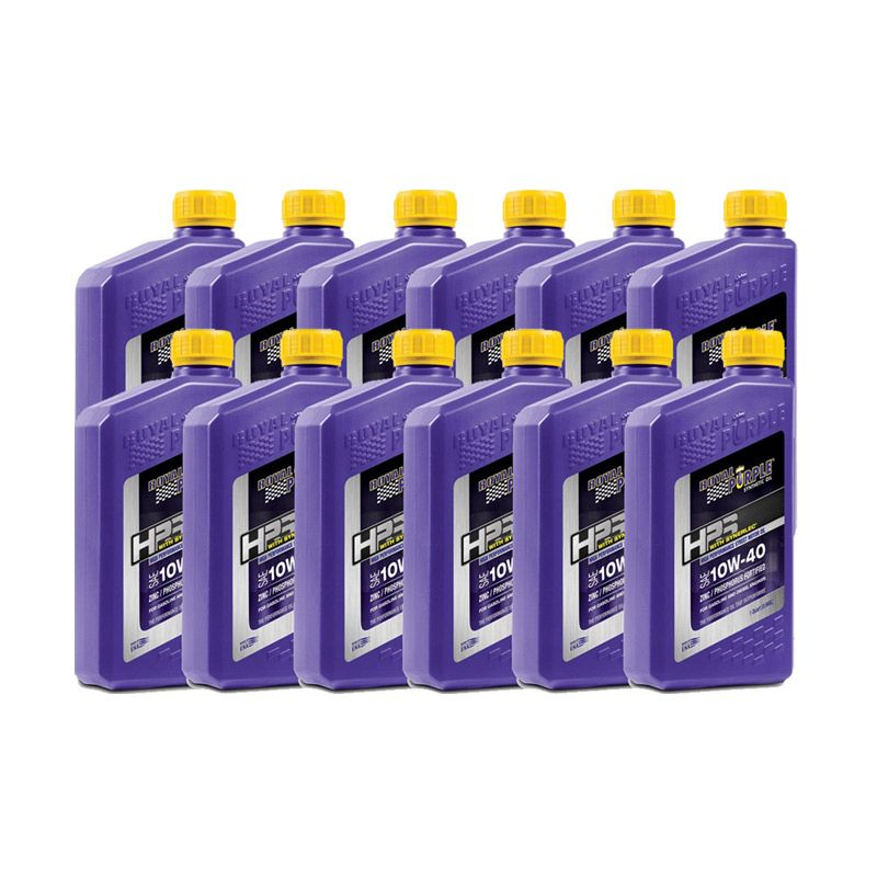 Jual Royal Purple HPS 10W 40 Fully Synthetic Engine Oil 12 Quart Terbaru