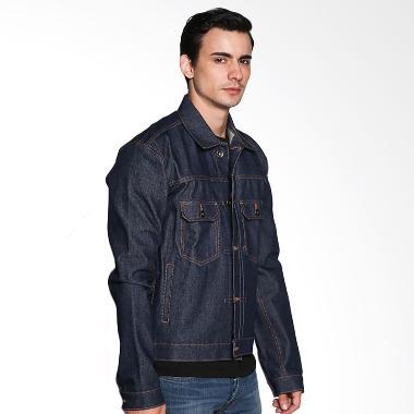 Travis Jeans Jacket TRV03M00016 Troopers II - Blue