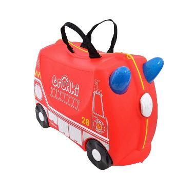 Trunki Luggage Fire Engine Frank Tas Anak