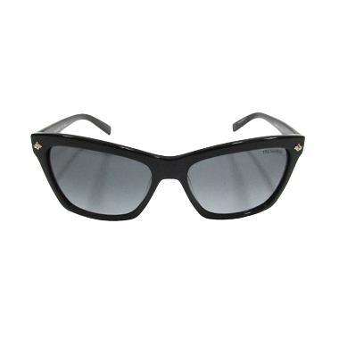 Trussardi Womens Wayfarer TR12869 BK Black Sunglasse. 40a12e168c