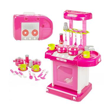 Jual tsh kitchen koper set mainan anak online harga for Kitchen set anak