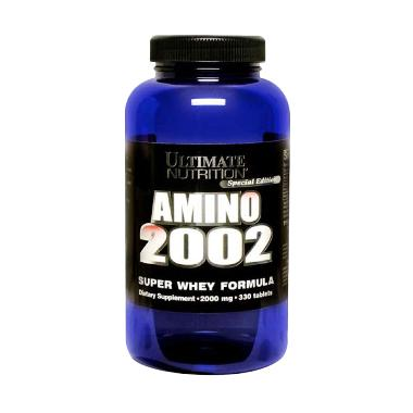 Ultimate Nutrition Amino 2002 Suplemen [330 Tablet]