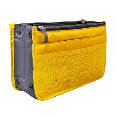 Ultimate Bag In Bag Organizer IM OR 20-01 Korean Travel Pouch - Yellow