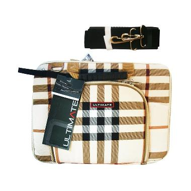 Ultimate Burberry DX Tas Notebook  - Coklat [12 Inch]