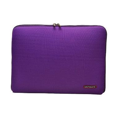Ultimate Plain Classic Purple Softcase Tas Laptop [14 Inch]
