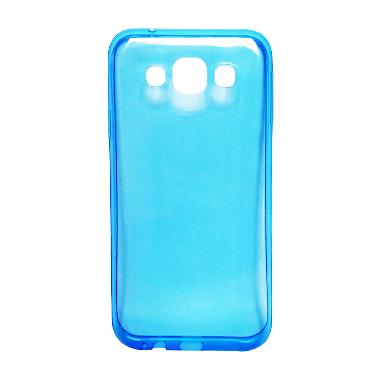 harga Ultra Thin Transparant Softcase Casing for Oppo R1X - Biru Blibli.com