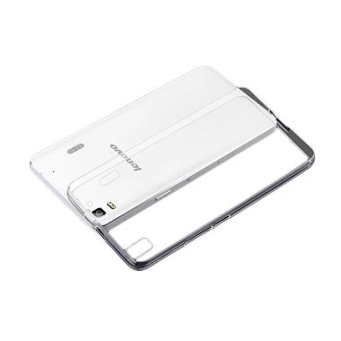 Ultrathin Clear Softcase Lenovo A7000 - Putih
