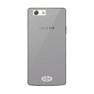 Ultrathin Softcase Casing for Oppo Neo 5 - Hitam Clear