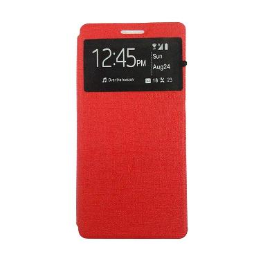 Ume Enigma Merah Flip Cover Casing for Samsung Galaxy Grand Neo Duos