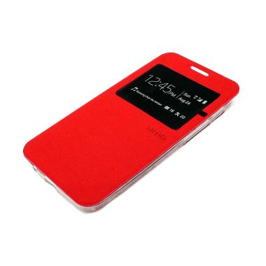 Ume Enigma Flip Cover Merah Casing for Vivo Y28