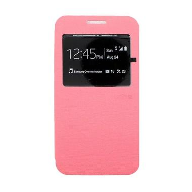 Ume Enigma Flip Cover Casing for Samsung Galaxy Alpha - Pink