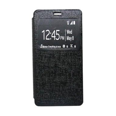 Ume Enigma Hitam Flip Cover Casing for Samsung Galaxy Z3