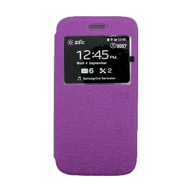 Ume Enigma Ungu Flip Cover Casing for Andromax G2 qwerty