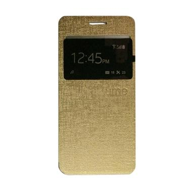 Ume Flip Cover Casing for Acer Liqu ... g Handphone / View - Gold