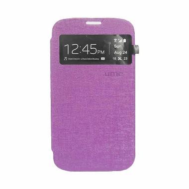 Ume Flip Cover Casing for Samsung Galaxy Grand 2 7102 - Ungu
