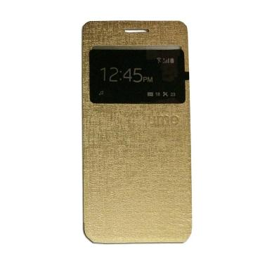 Ume Vivo Y51 Flip Cover / Flipshell ... HP Vivo Y51 / View - Gold