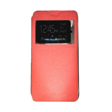 Ume Flipshell / Flip Cover Casing for Lenovo Vibe P1M Leather Case / Sarung HP /