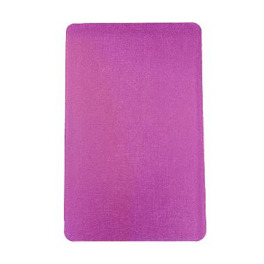 Ume Leather Ungu Flip Cover Casing for Samsung Galaxy T111 or Tab 3 Lite