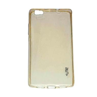 huawei p8 lite gold. ume ultrathin back cover softcase casing for huawei p8 lite - gold