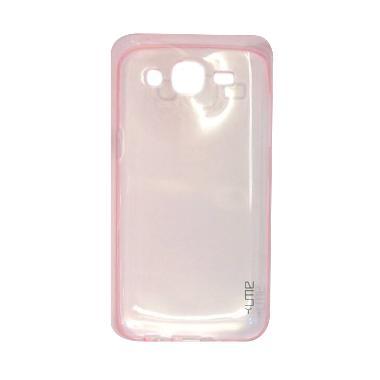 Ume UltraThin Back Cover Softcase C ... y J7 [2015] / J700 - Pink