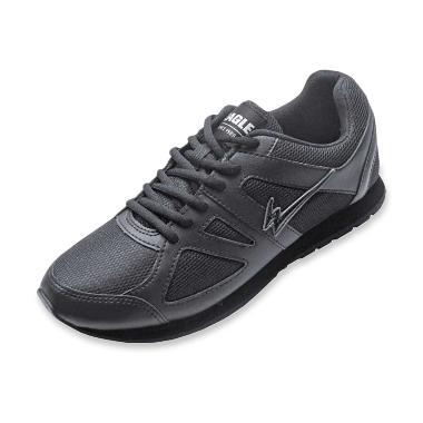 Sepatu Lari Pria Hitam - Produk Berkualitas cb8b66a1fa