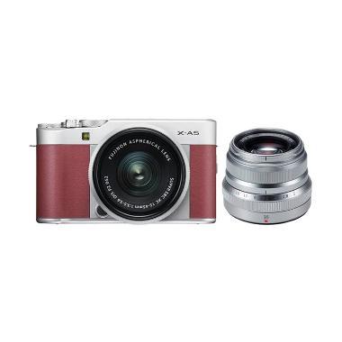 Fujifilm XA5 Kit 15-45mm + XF 35mm  ... g jpckemang GARANSI RESMI