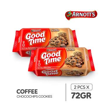 harga FS MBW - Good Time Coffee Chocochips Cookies [72 g/ 2 pcs] Blibli.com