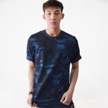 Kale Clothing Camo Oversize T-shirt Pria