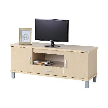 Kirana BF 827 WO Rak TV / Audio/ Meja TV - White Oak