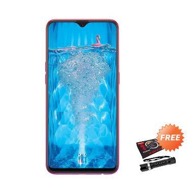 harga OPPO F9 Pro Smartphone [64 GB/ 6 GB] + Free Senter Police Blibli.com