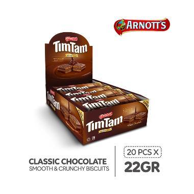 harga Tim Tam Choco Biscuit [Jumbo Pack/ 22 g x 20 pcs] Blibli.com
