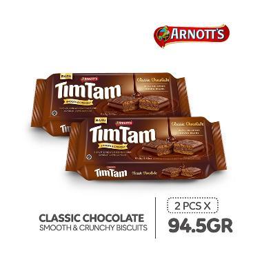 harga Tim Tam Choco Chocolate Biscuit [94.5 g/2 pcs] Blibli.com
