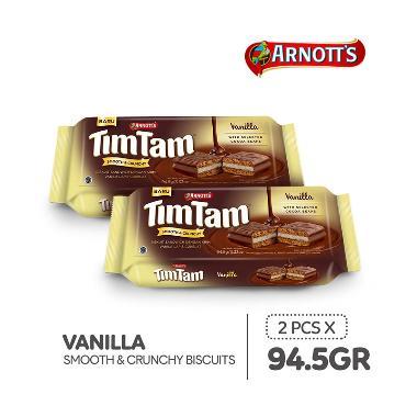 harga Tim Tam Choco Vanilla Biscuit [94.5 g/2 pcs] Blibli.com