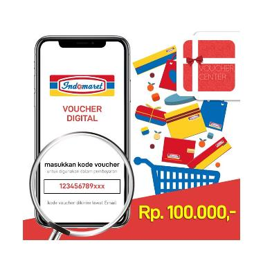 BigBang2018 - Voucher Center Indomaret Digital Code [Rp. 100.000]