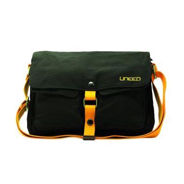 Uneed Sling Bag UB210 Indie Grey Tas Selempang