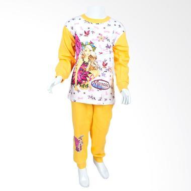 Jual Unico Barbie Mariposa Pbm01 Baju Tidur Anak Online