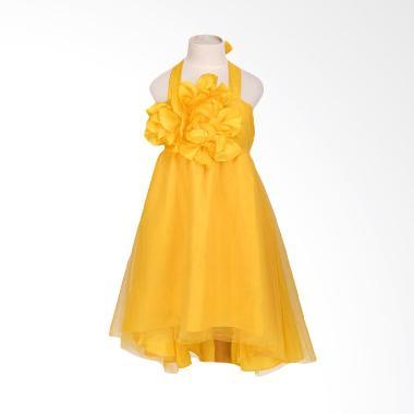 Unico Halterneck Kuning Dress Anak