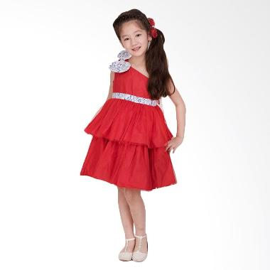 Unico Toga Dress Merah MS005 Dress Anak