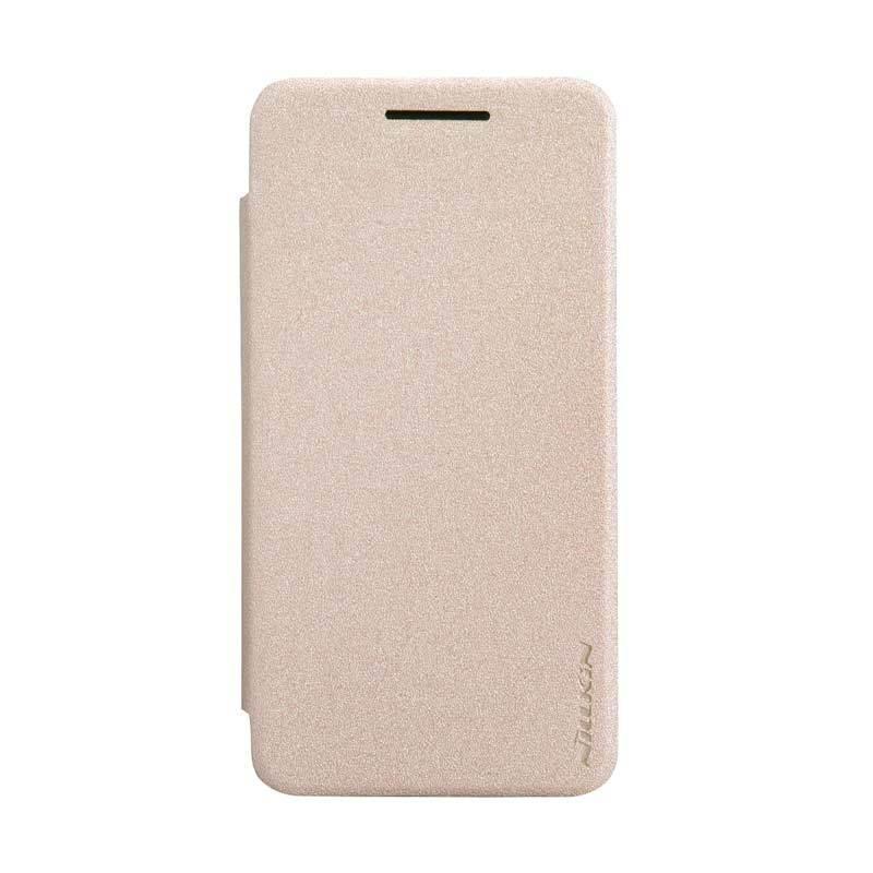 NILLKIN Asus Zenfone 4 Sparkle Leather Case Gold