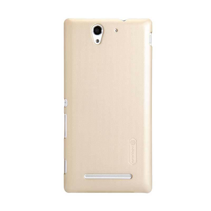 ... Hitam + Free Nillkin Screen Protector. Source · NILLKIN SONY Xperia C3 S55T Super Frosted Shield Golden