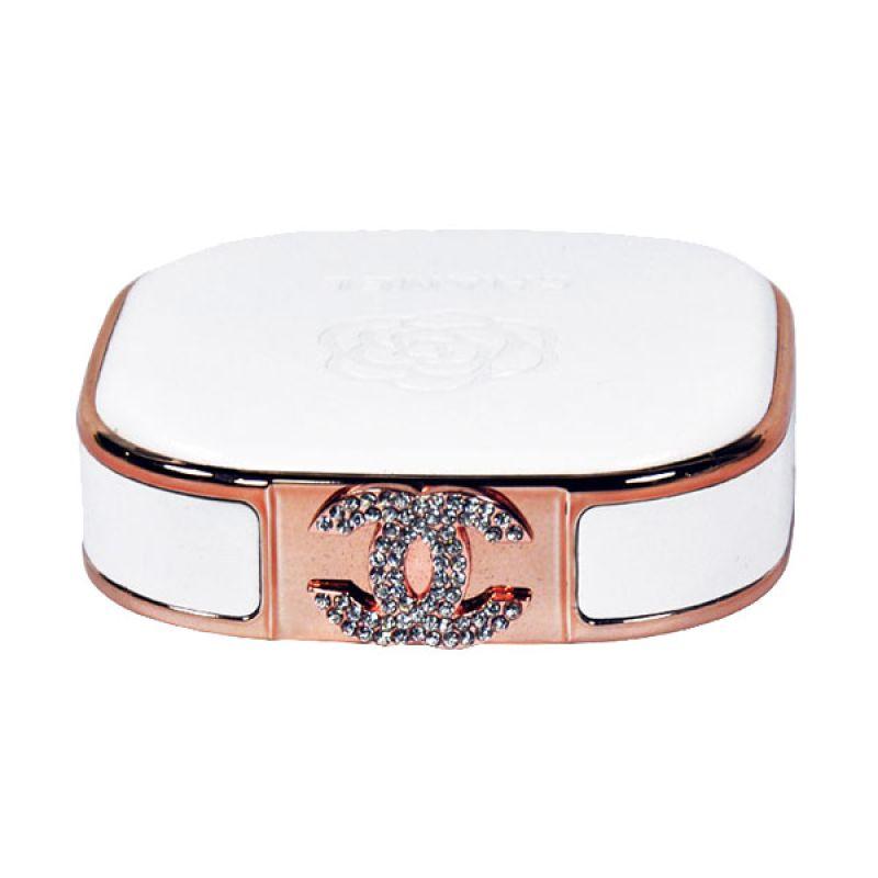 Jual Unicorn Mobilstar Chanel Leather White Powerbank [12000 mAh] Harga Rp 261250. Beli Sekarang dan Dapatkan Diskonnya.
