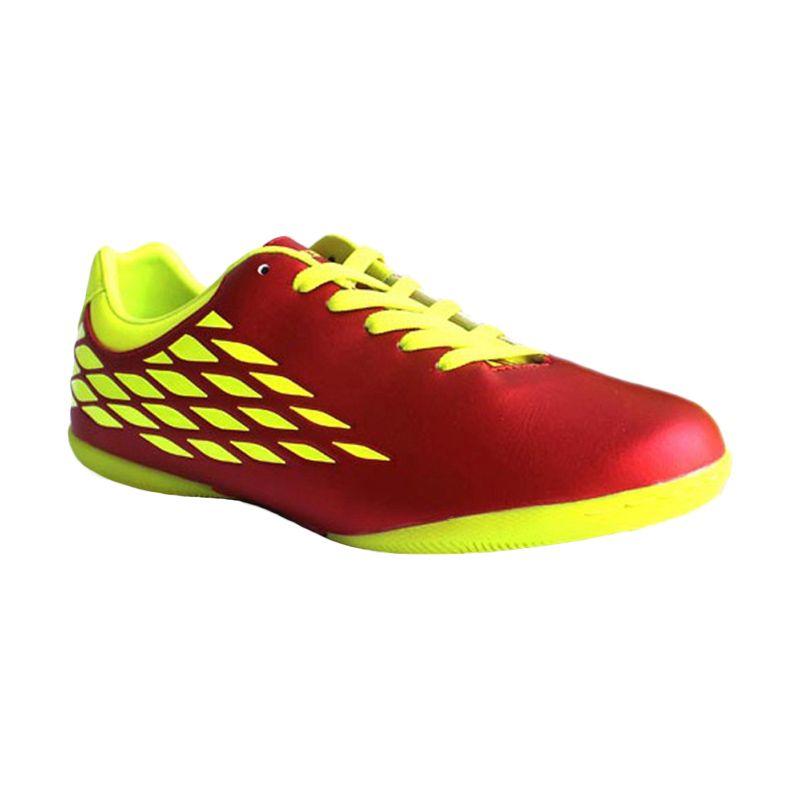 Nobleman Hazzard Red Neon Sepatu Fu ...