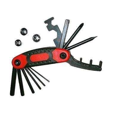 United 15 in 1 Bike Repair Tool Kit Set