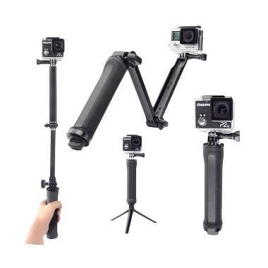 Universal 3-WAY Adjustable Monopod  ... ro/SJCam/Xiaomi Yi/Brica]