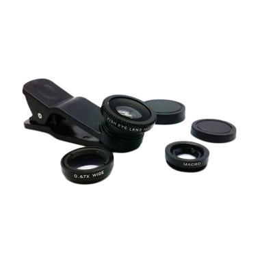Universal 3in1 Clip Lens - Hitam