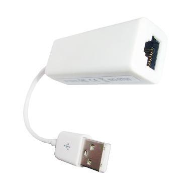 Universal Conektor USB 2.0 To LAN – Putih