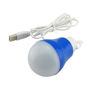 Universal Kabel USB Lampu LED - Biru