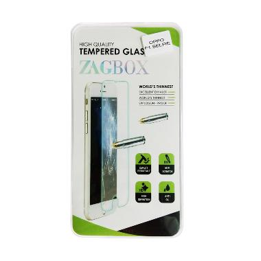 Universal Zagbox Tempered Glass Scr ... or Oppo F1 Selfie - Clear