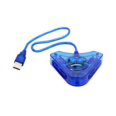 USB Converter Stik Controller - Blue [Double]