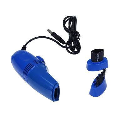 USB Vacum Cleaner for Computer - Biru
